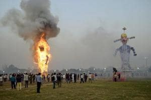 No relief in sight, as officials struggle to dewater city ahead of Dussehra