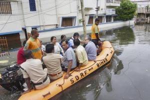 Late deluge brings Bihar to knees, floods east UP