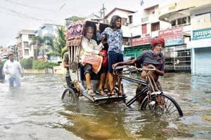 Patna flooded, but monsoon rainfall still below normal