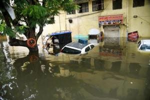 Failed drainage system adds to Patna's plight as many areas remain flooded