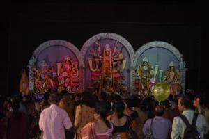 PHOTOS: Looking back at Delhi's colourful Durga Puja celebrations