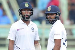 India vs South Africa: Rohit, Pujara put hosts on top on Day 4