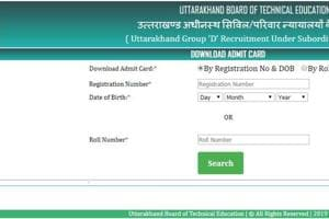 UBTER 2019 admit card for Group D recruitment released, here's how to download at ubtergd-in