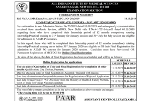 AIIMS PG Entrance Exam 2020: Registration date extended to October 16, here's how to apply