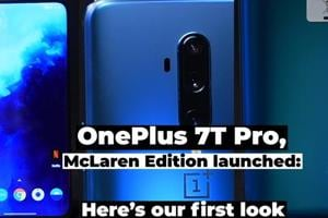 OnePlus 7T Pro, McLaren Edition launched: Here's our first look