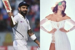 Here's how Anushka Sharma reacted to Virat Kohli's 7th double century- See pic