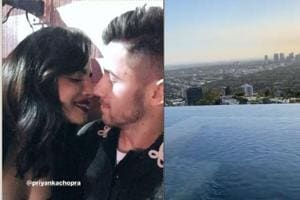 Priyanka Chopra, Nick Jonas get into party mode in Las Vegas, enjoy quiet time at infinity pool- See pics