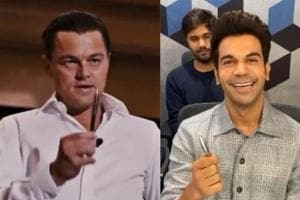 Rajkummar Rao sells a pen to Leonardo DiCaprio, fans hail him for his marketing skills- Watch