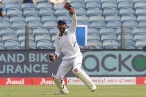 India vs South Africa: Wriddhiman Saha takes one-handed screamer to get rid of De Bruyn - watch video