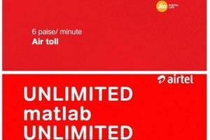 Reliance Jio, Airtel and Vodafone Idea are trolling each other over 6 paise per minute calling charges
