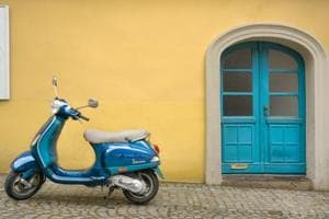 Mali's timeless love for Italy's vintage scooter