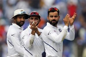 India take massive 140-point lead in World Test Championship