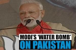 Watch l Will not allow India's water to flow to Pakistan: PM Modi in Ha...