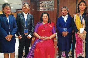 Students of Ryan International school Mumbai take part in mock UN event