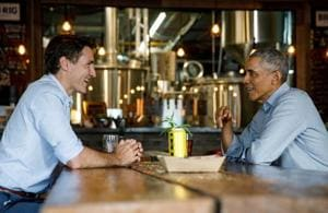 Barack Obama backs Canada's Justin Trudeau for another term in office