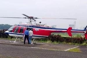 Supriya Sule's helicopter checked by Election Commission's flying squad
