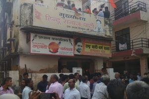 Local Hindu outfit leader shot dead, found with throat slit in Lucknow