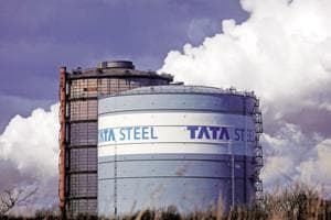 Tata Steel's capacity utilisation has come down to 85% from last fiscal year's 100%.