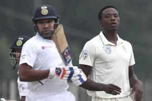 India vs South Africa 3rd Test:Rohit powers hosts to 224/3 on opening day