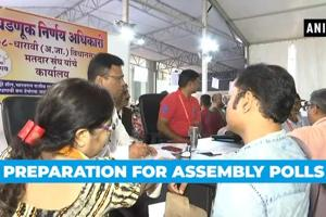 Watch: Preparation & security arrangements for Maharashtra, Haryana pol...