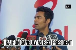 'Right man at the right place at the right time': Kaif on Ganguly as BCCI...