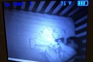 Mom freaks out after sighting 'ghost baby', Turns out to be a funny mistake