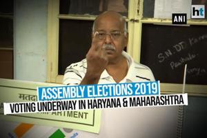 Assembly Elections 2019   Voting underway in Maharashtra and Haryana
