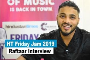 In conversation with Raftaar at HT Friday Jam 2019