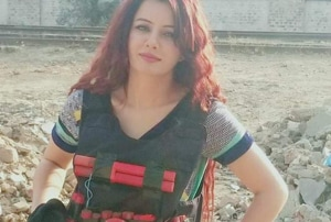 Pak singer poses with suicide vest, Twitter asks if it's her national dress