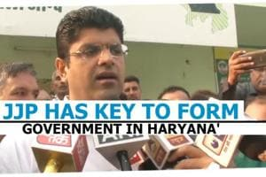 Haryana polls: 'JJP has key to form government in Haryana' says Dushyant...