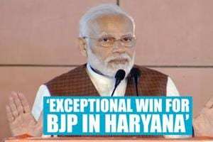 Hung assembly in Haryana, PM Modi calls it an 'exceptional win for BJP'