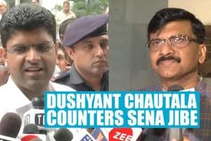 Dushyant Chautala hits back at Shiv Sena leader for jibe on his father