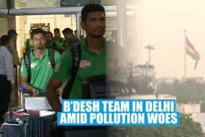 Bangladesh team in Delhi for 1st T20 as concern over pollution peaks