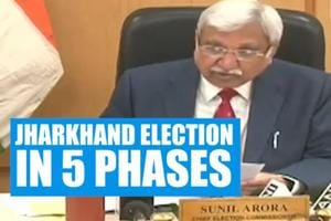 EC announces 5-phase Jharkhand election starting Nov 30, result on Dec ...