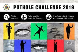 Mumbai's municipal corporation starts 'Pothole Challenge 2019,' offers Rs 500 as reward- There's a catch