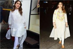 Sara Ali Khan stuns in white yet again with three different traditional looks-  Pics inside