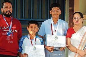 Saupin's students shine in cricket championship