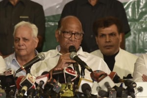 Sharad Pawar rules out tie-up with Shiv Sena, makes a prediction about next govt