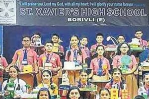 Mumbai School events: Green and clean Diwali for these students