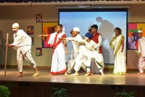 Tagore International School Delhi holds art, oratory and  tech festival