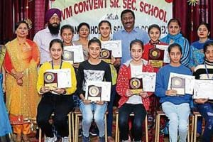 Drawing contest at Ludhiana school