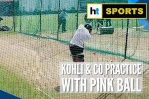 India vs Bangladesh: Kohli & co train with pink balls in Indore to prepare...