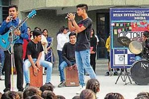 Special assembly on Germany held at Ryan, Noida