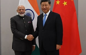 'New direction': PM Modi meets Chinese Prez Xi on sidelines of BRICSSummit
