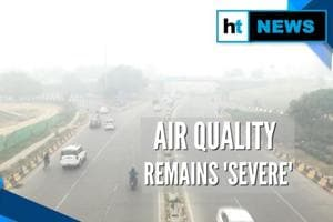 Smog continues to envelop Delhi-NCR, air quality remains 'severe'