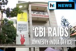 CBI raids Amnesty India offices over alleged FCRA violations