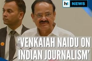'Journalism getting eroded': Venkaiah Naidu on National Press Day