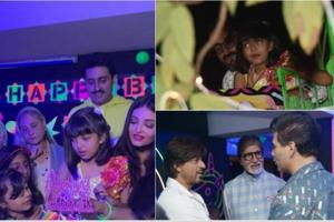 Inside Aaradhya Bachchan's party: Birthday girl cuts cake with mum Aishwarya Rai and dad Abhishek, rides Ferris wheel
