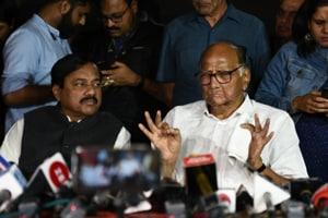 'Didn't discuss Shiv Sena': Sharad Pawar after talks with Sonia Gandhi