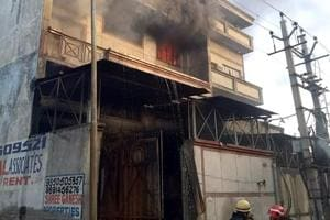 Man dead in Narela factory fire, search on for his colleague